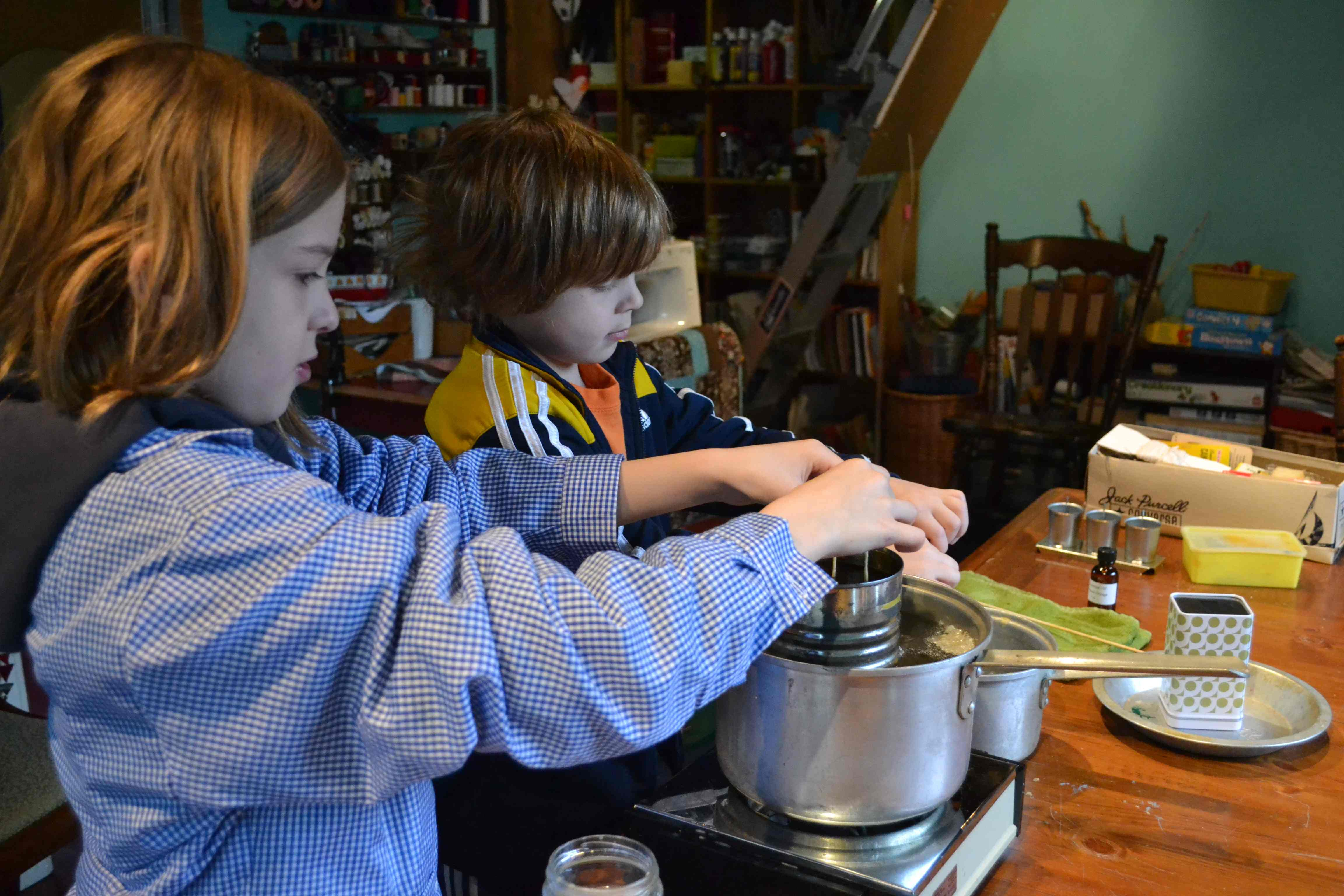 Making Beeswax Candles With My Kids Tutorial Naturally Fun Days