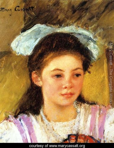 Ellen-Mary-Cassatt-With-A-Large-Bow-In-Her-Hair