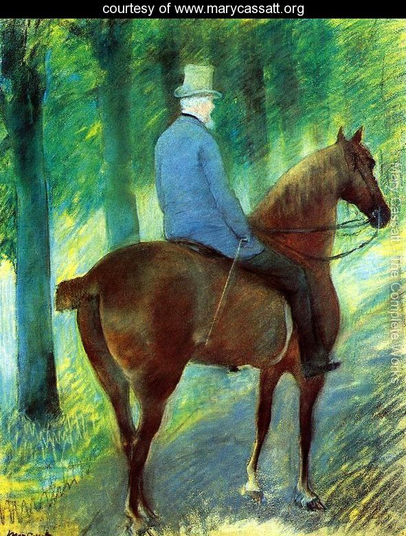 Mr-Robert-S-Cassatt-On-Horseback-large