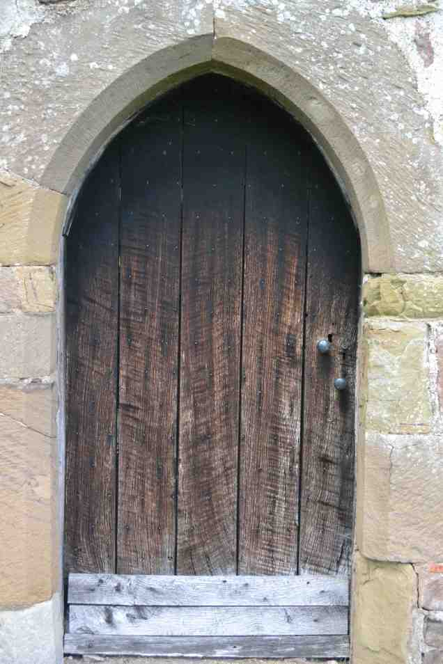 Stokesay castle door copy