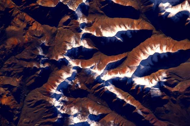 Himalayas from ISS