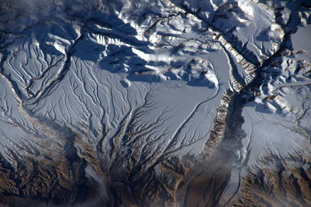 Himalayas from space
