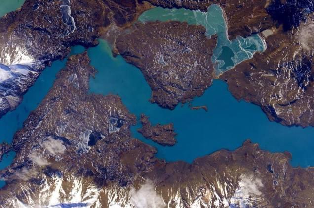 Patagonia frmo ISS