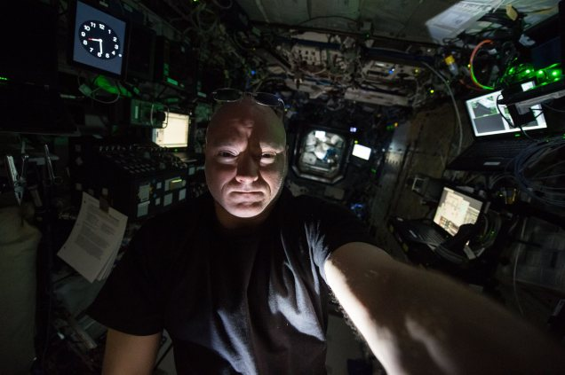 Scott Kelly August 2015 ISS