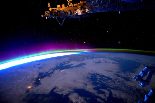 The Earth from ISS 2015