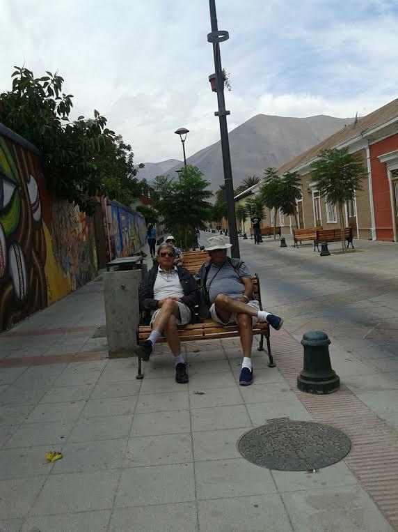 Papa y Chacho Coria en Vicuna